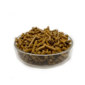 Shrimp pellets carotte